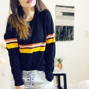 Vintage Crewneck hipster on the horizon sweater